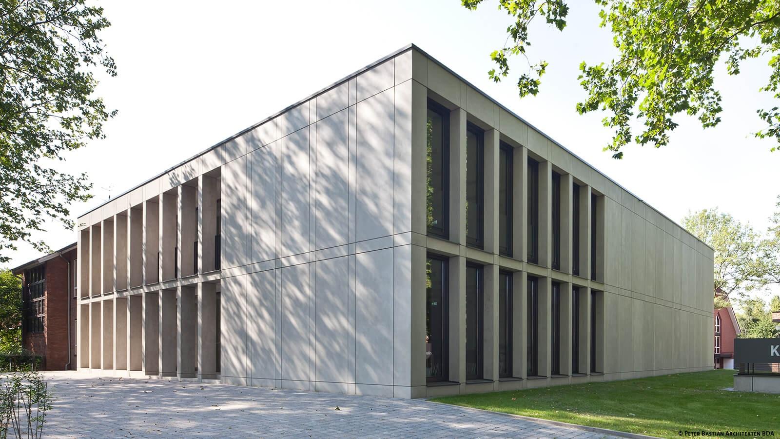 Vorderansicht katholische FH NRW Muenster