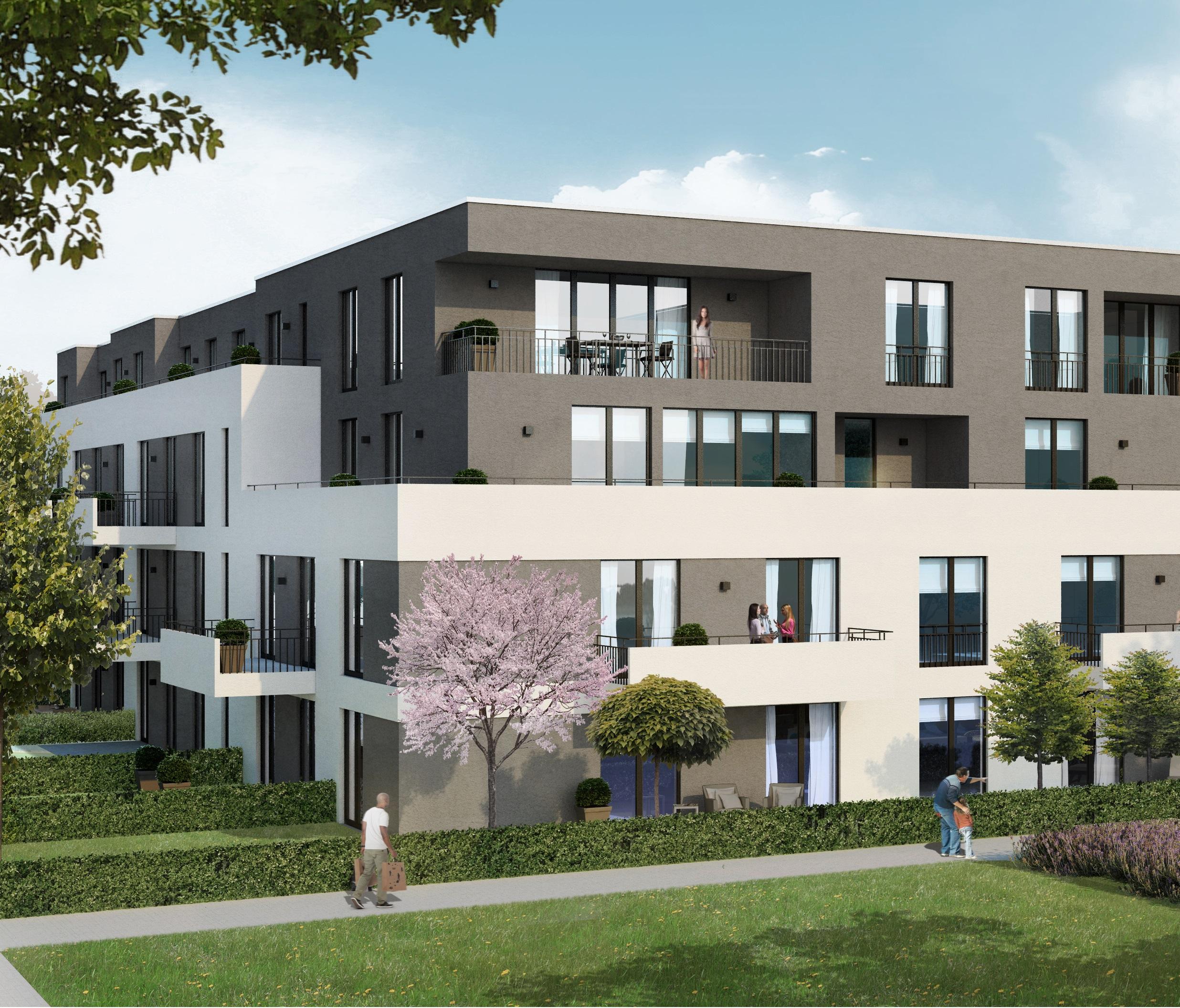 Planungsentwurf Living Westfalia Duesseldorf