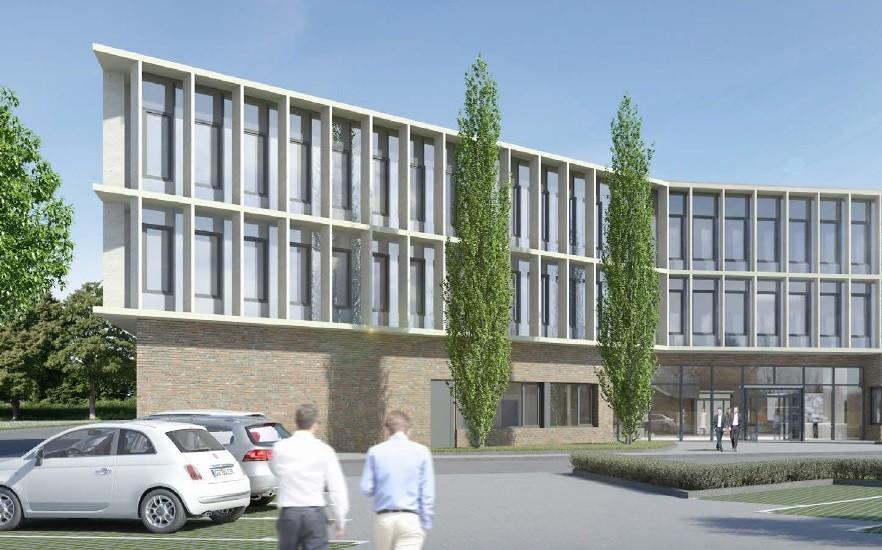 Planungsentwurf Neubau VEKA Sendenhorst