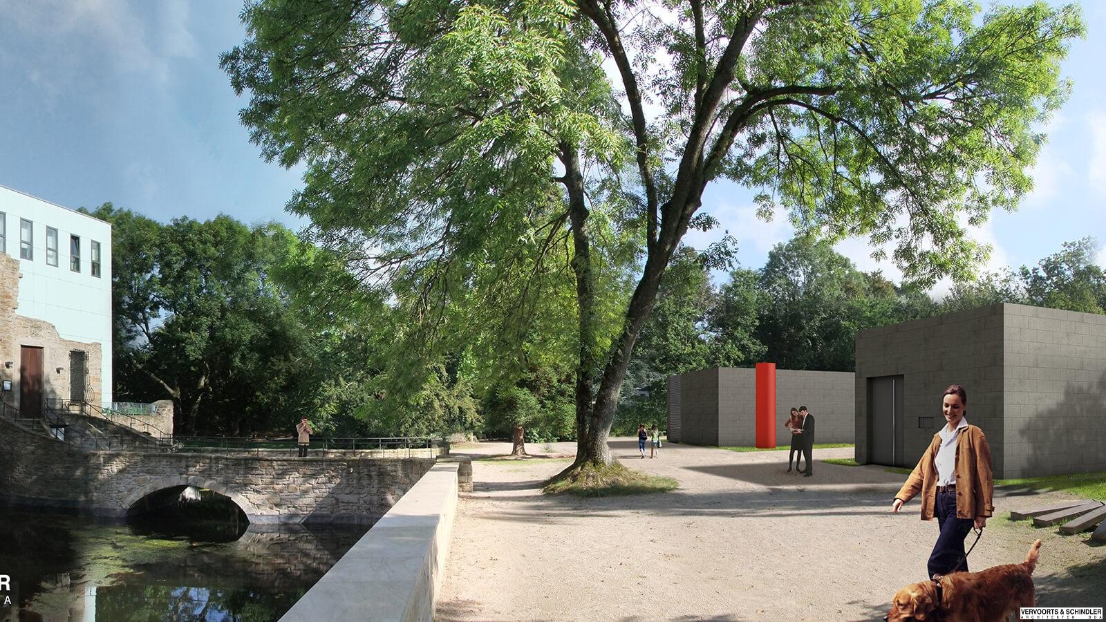 Planungsbild Museum unter Tage Bochum