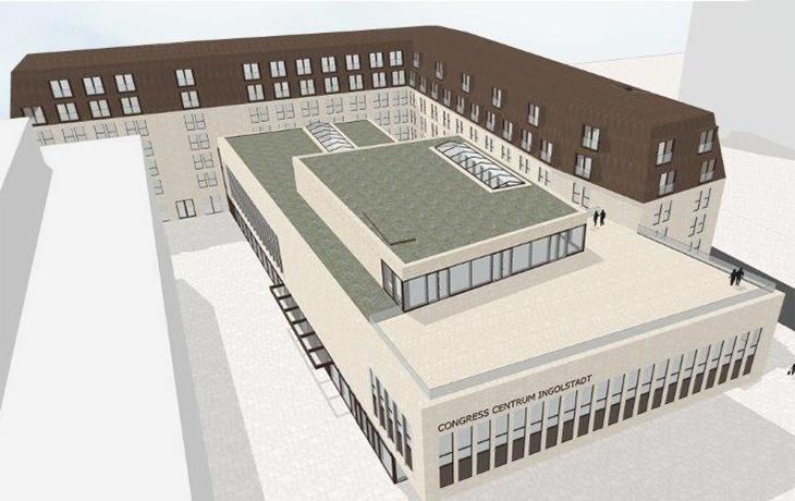 Planungsentwurf Maritim Koenigswinter Ingolstadt